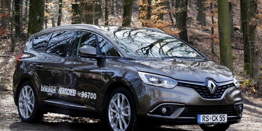 FOTO:  ROLAND KEUSCH Fahrbericht für ENGELBERT Renault Scénic Autohaus Berghaus