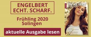 Engelbert Frühling 2020 Solingen