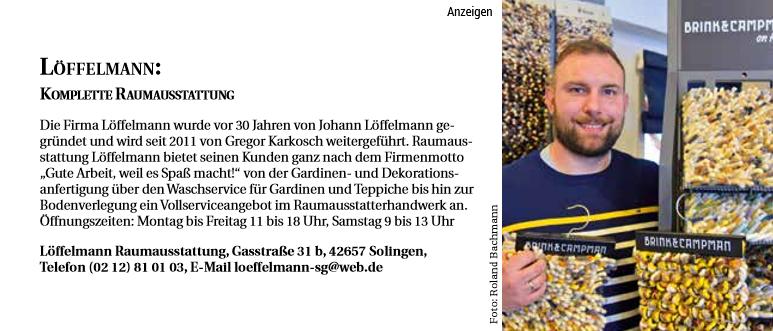Service Tipp - Löffelmann Raumausstattung