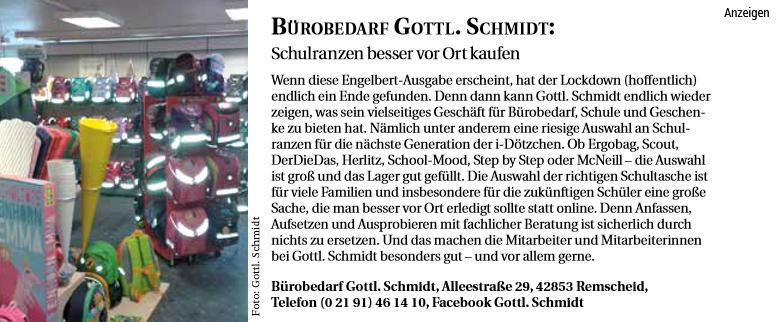Service Tipp - Bürobedarf Gottl. Schmidt