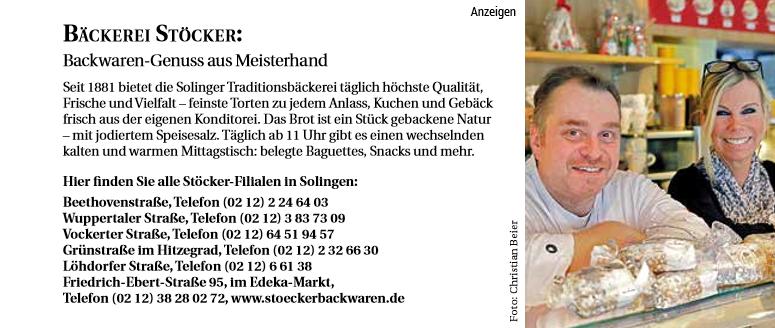 Service Tipp - Bäckerei Stöcker