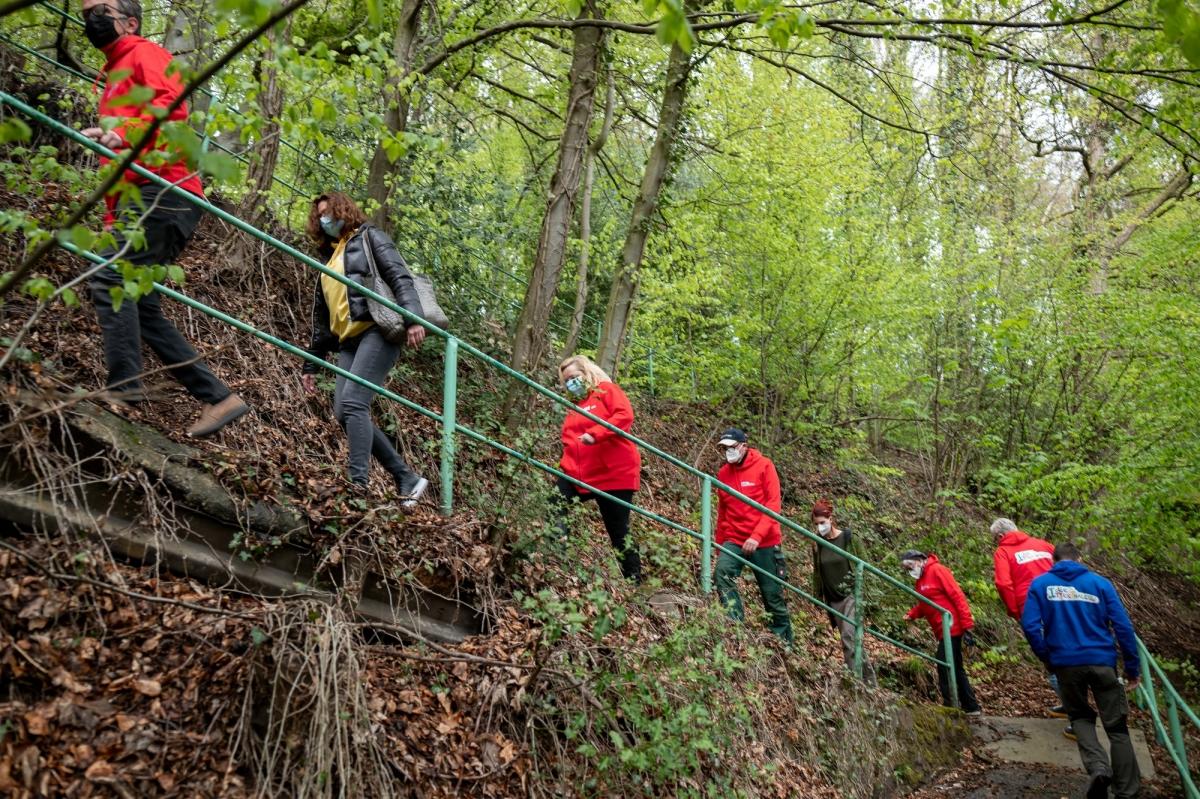 Einblick in den Freizeitpark Ittertal und den Märchenwald.